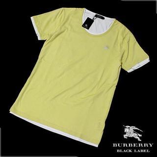 バーバリーブラックレーベル(BURBERRY BLACK LABEL)の新品 M バーバリー ブラックレーベル レイヤード 半袖 Tシャツ(Tシャツ/カットソー(半袖/袖なし))