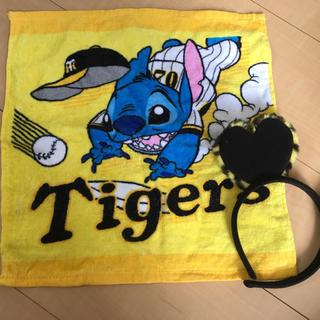 ハンシンタイガース(阪神タイガース)のタイガース カチューシャ タオル セット(応援グッズ)