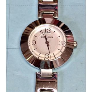 オリエント(ORIENT)のV29)素敵な♡オリエント・フェールラビーズ電池交換済みシルバー(腕時計)