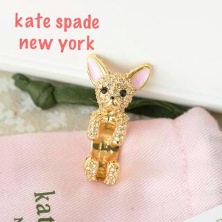 ケイトスペードニューヨーク(kate spade new york)の【数量限定SALE¨̮♡︎新品】ケイトスペード チワワ リング(リング(指輪))
