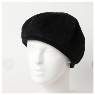 イーハイフンワールドギャラリー(E hyphen world gallery)のLee×E hyphen world gallery コーデュロイベレー帽(ハンチング/ベレー帽)