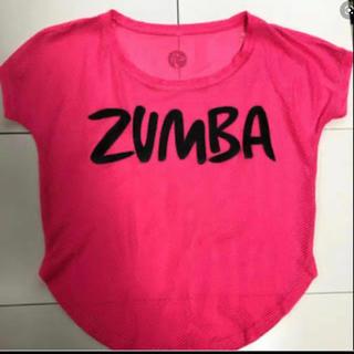 ズンバ(Zumba)のZUMBA メッシュ トップス XS(トレーニング用品)