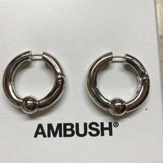 アンブッシュ(AMBUSH)のambush フープピアス(ピアス(両耳用))