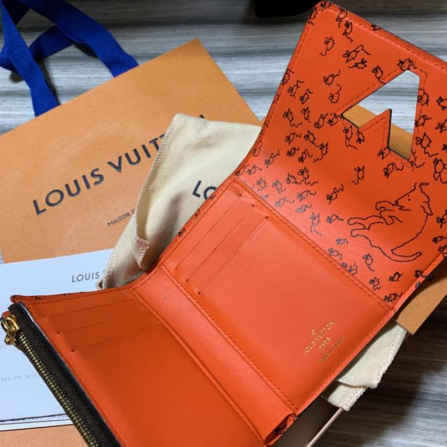 LOUIS VUITTON(ルイヴィトン)の確実正規 激レア ヴィトン  キャットグラム  ポルトフォイユ・ツイスト  レディースのファッション小物(財布)の商品写真