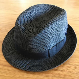 ジーユー(GU)のストローハット 麦わら帽子(麦わら帽子/ストローハット)