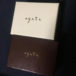 agete - アガット アクセサリーケース ✨ ジュエリー ボックス
