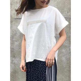 ダブルスタンダードクロージング(DOUBLE STANDARD CLOTHING)の新品未使用praia ロゴT オフ(Tシャツ(半袖/袖なし))