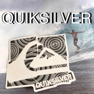 クイックシルバー(QUIKSILVER)のQUIKSILVERクイックシルバー US限定 型抜き デザイン ステッカー(サーフィン)