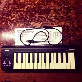 KORG MIDIキーボード Micro Key 25 (MIDIコントローラー)