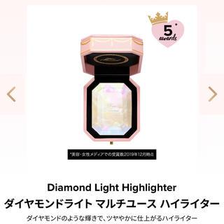 トゥフェイス(Too Faced)の【今だけお値下げ中!】新品 Too Faced ダイヤモンドライト ハイライター(フェイスパウダー)