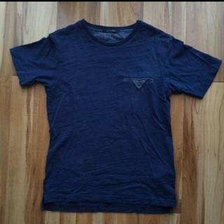 ドアーズ(DOORS / URBAN RESEARCH)のアーバンリサーチ Tシャツ ネイビー ポケット(Tシャツ/カットソー(半袖/袖なし))