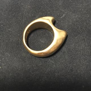 ツモリチサト(TSUMORI CHISATO)のツモリチサト ゴールドリング 猫♡(リング(指輪))