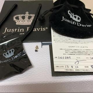 ジャスティンデイビス(Justin Davis)のジャスティンデイビス*ピアス 片耳 ブラック(ピアス)