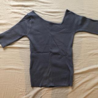 フィフス(fifth)のリブトップス(Tシャツ(長袖/七分))