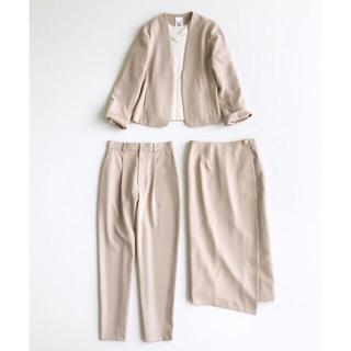 ハコ(haco!)のハコ フォーマルジャケット・パンツ・スカート3点セット(スーツ)