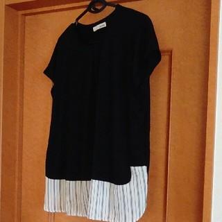 シューラルー(SHOO・LA・RUE)のSHOO- LA - RUE      半袖Tシャツ Lサイズ(カットソー(半袖/袖なし))