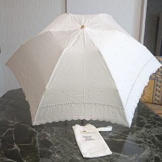 【美品】セリーヌ日傘★ホワイト