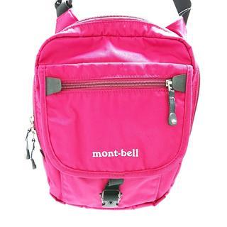 モンベル(mont bell)のモンベル ショルダーバッグ レッド(ショルダーバッグ)