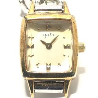 アガット(agete)のagete(アガット) 腕時計 081201 レディース(腕時計)