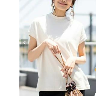 コーエン(coen)のコーエン USAコットンハイネックTシャツ ナチュラル(Tシャツ(半袖/袖なし))