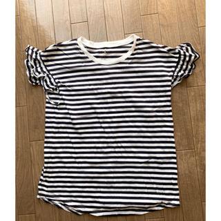 ケイトスペードニューヨーク(kate spade new york)のケイトスペード  kate spade 白紺ボーダーTシャツ Sサイズ(Tシャツ(半袖/袖なし))