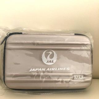 ゼロハリバートン(ZERO HALLIBURTON)の新品未使用✨「ZERO HALLIBURTON」JAL国際線アメニティポーチ(旅行用品)