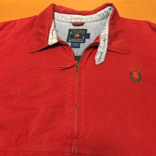 ラルフローレン(Ralph Lauren)のチャップス ラルフローレン ブルゾン 刺繍ロゴ L(ブルゾン)