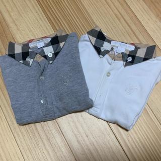 バーバリー(BURBERRY)のバーバリー ポロシャツ2枚セット 子ども服 (その他)