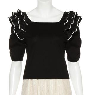 リリーブラウン(Lily Brown)のオフショルダートップス(Tシャツ(半袖/袖なし))