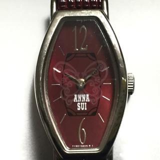 アナスイ(ANNA SUI)のアナスイ 腕時計美品  Y150-0AM0 革ベルト(腕時計)