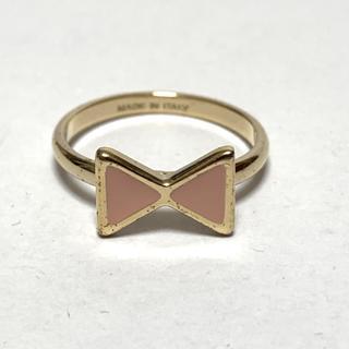 クロエ(Chloe)のクロエ リング美品  - 金属素材 リボン(リング(指輪))