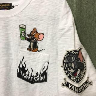 VANSON - vanson  トムとジェリー 刺繍