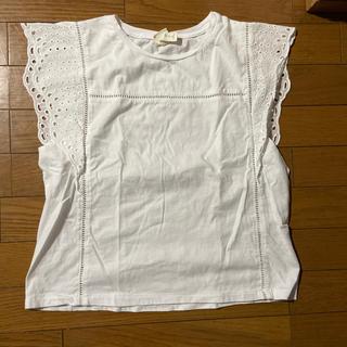 エイチアンドエイチ(H&H)のH&Mフリルトップス(Tシャツ(半袖/袖なし))