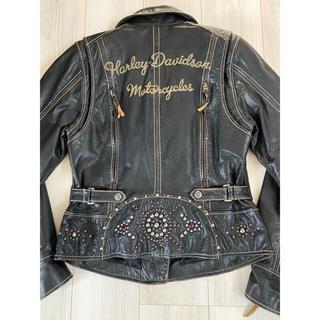 ハーレーダビッドソン(Harley Davidson)の【最終値下げ】ハーレー革ジャン レディース(ライダースジャケット)