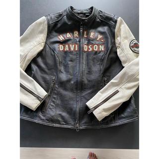 ハーレーダビッドソン(Harley Davidson)のハーレー革ジャン レディース【最終値下げ】(ライダースジャケット)