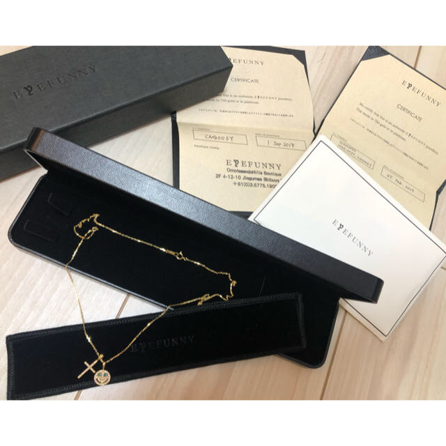 EYEFUNNY(アイファニー)の定価58万EYEFUNNYアイファニースマイル クロス ネックレス  3点セット メンズのアクセサリー(ネックレス)の商品写真