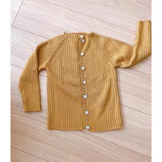 キャラメルベビー&チャイルド(Caramel baby&child )のKonges Sloejd リブカーディガン  24-36M(カーディガン)