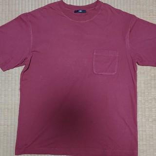 ハレ(HARE)のハレ   ポケット ドロップカットソー  M(Tシャツ/カットソー(半袖/袖なし))
