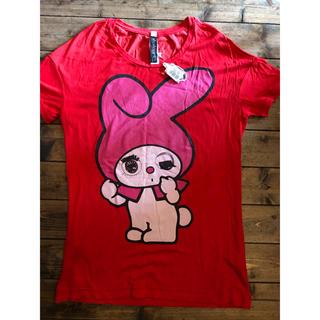 アチャチュムムチャチャ(AHCAHCUM.muchacha)のあちゃちゅむ未使用マイメロTシャツ36ムチャチャ サンリオ コラボkeikiii(Tシャツ(半袖/袖なし))