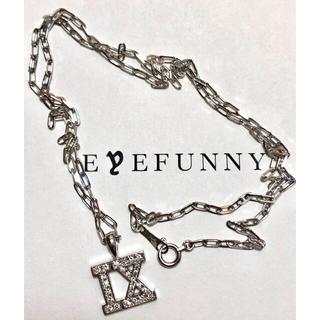 アイファニー(EYEFUNNY)のEYEFUNNY  ダイヤモンド ローマンナンバー NO.9 ミドル Sチェーン(ネックレス)