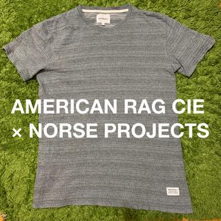 アメリカンラグシー(AMERICAN RAG CIE)の美品 AMERICAN RAG CIE Tシャツ グレー アメリカンラグシー(Tシャツ/カットソー(半袖/袖なし))