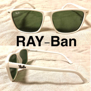 レイバン(Ray-Ban)のRAY-Ban ウェリントン サングラス ホワイト(サングラス/メガネ)