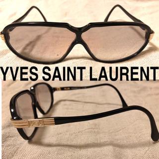サンローラン(Saint Laurent)のYVES SAINT LAURENT デザイン サングラス ヴィンテージ(サングラス/メガネ)