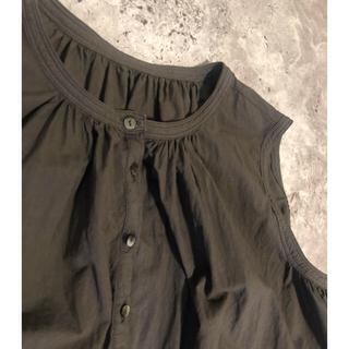 ネストローブ(nest Robe)のnestrobe ノースリーブシャツ(シャツ/ブラウス(半袖/袖なし))