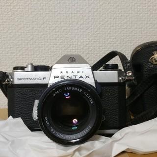 PENTAX - ジャンクPentax Spotmatic F + SMC Takuma セット