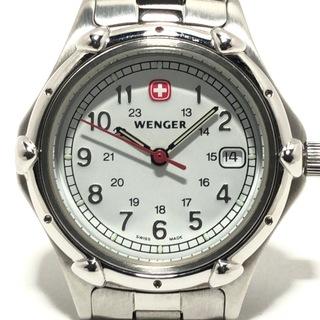 ウェンガー(Wenger)のウェンガー 腕時計 - 7020X レディース 白(腕時計)