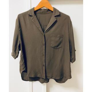 アパートバイローリーズ(apart by lowrys)のオープンカラーシャツ アパートバイローリーズ (シャツ/ブラウス(半袖/袖なし))