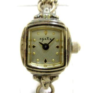 アガット(agete)のagete(アガット) 腕時計 GP/0.014カラット(腕時計)