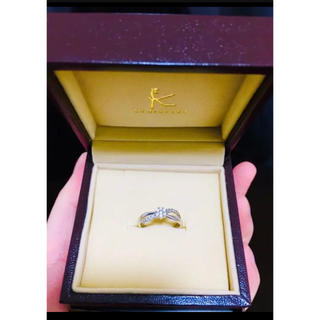 クミキョク(kumikyoku(組曲))のブランド組曲 ホワイトゴールドダイヤモンド リング(リング(指輪))