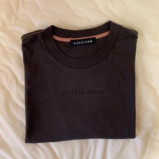 アリシアスタン(ALEXIA STAM)のALEXIA STAM Tシャツ(Tシャツ(半袖/袖なし))